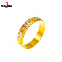 GJ Jewellery Emas Korea Ring - Permata Kikir | Mix (88803)