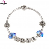 GJ Jewellery Emas Korea Pandora - First Love - Blue (PDR0009)