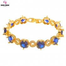 GJ Jewellery Emas Korea Bracelet - Sweet-O Diamond Zirkon (2760939)