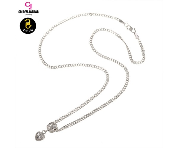 GJ Jewellery Emas Korea Necklace - Linked Love (40702)