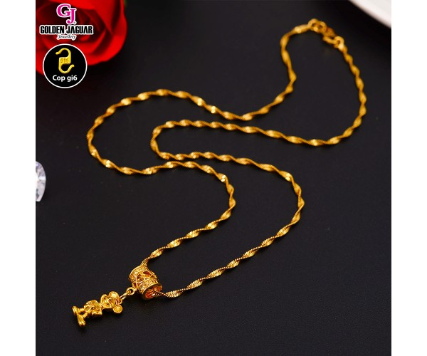 GJ Jewellery Emas Korea Necklace - Mickey M1 (40608-M1)