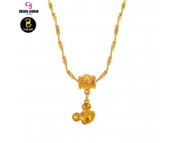 GJ Jewellery Emas Korea Necklace - Mickey M2 (40608-M2)