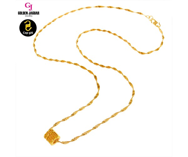 GJ Jewellery Emas Korea Necklace - Sempoa #BringCareer (40604CR)