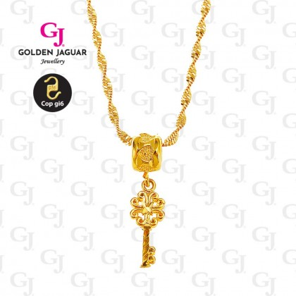 GJ Jewellery Emas Korea Necklace - Twenty-One (40607)