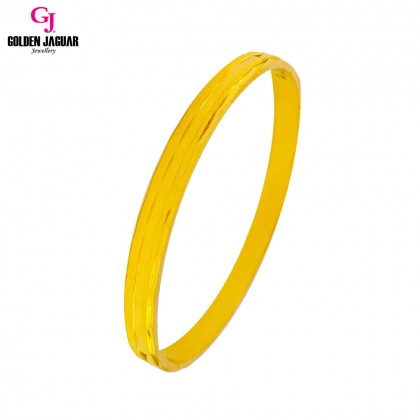 GJ Jewellery Emas Korea Bangle - Matrix | Hook (5965619)