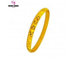 GJ Jewellery Emas Korea Bangle - X-tra | Hook | M (5966021)