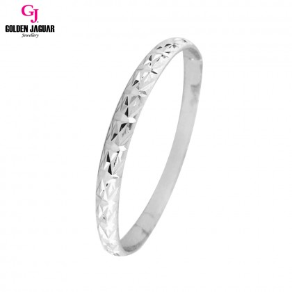GJ Jewellery Emas Korea Bangle - X-tra | Hook | M (5976021)