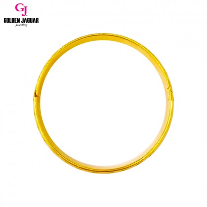 GJ Jewellery Emas Korea Bangle - X-tra | Hook | L (5966022)