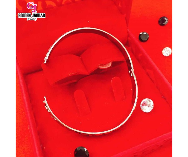 GJ Jewellery Emas Korea Bangle - X-tra | Hook | L (5976022)