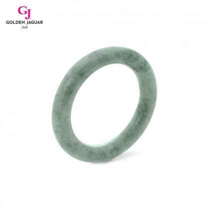 GJ Jewellery Exclusive Jade - Genuine Grade A Certified Natural Jade Bangle (X1905051955)