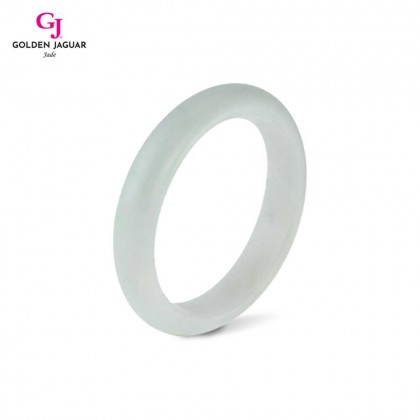GJ Jewellery Exclusive Jade - Genuine Grade A Certified Natural Jade Bangle (X1905051959)