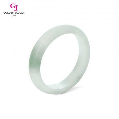 GJ Jewellery Exclusive Jade - Genuine Grade A Certified Natural Jade Bangle (X1905051947)