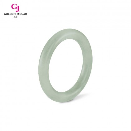 GJ Jewellery Exclusive Jade - Genuine Grade A Certified Natural Jade Bangle (X1904066148)