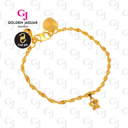 GJ Jewellery Emas Korea Set - Butterfly Kiss (GJJ-0018)