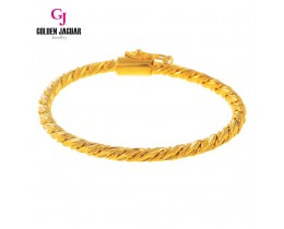GJ Jewellery Emas Korea Bangle - Pintal Kikir | Hook (5365503)