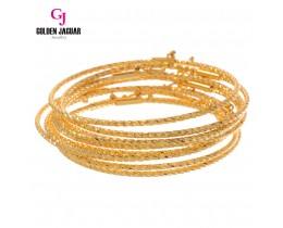 GJ Jewellery Emas Korea Bangle - Beth Kikir | 1pc | Hook (5565506)