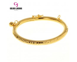 GJ Jewellery Emas Korea Bangle - Grace Kikir | Hook (5565514)