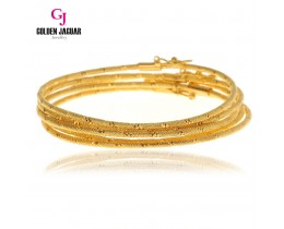 GJ Jewellery Emas Korea Bangle - Snake Kikir | 1pc | Hook (5565517)