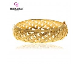 GJ Jewellery Emas Korea Bangle - 6 Love Pasir | Hook (5966011)