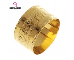 GJ Jewellery Emas Korea Bangle - Classic Aesthetic Thick | Hook (5965809)