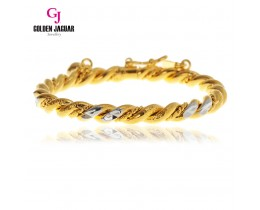 GJ Jewellery Emas Korea Bangle - Pintal Kikir Mix | Hook (5385503)