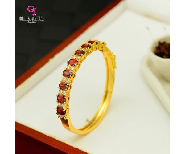 Emas Korea Golden Jaguar Zirkon Bangle (GJJ-57612)
