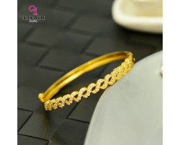 Emas Korea Golden Jaguar Zirkon Bangle (GJJ-57616)