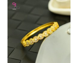 Emas Korea Golden Jaguar Zirkon Bangle (GJJ-57618)