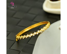 Emas Korea Golden Jaguar Zirkon Bangle (GJJ-57620)
