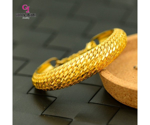 Emas Korea Golden Jaguar Bangle (GJJ-59685)