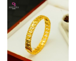 GJ Jewellery Emas Korea Bangles - Love Kikir | Hook (5566026)