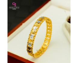 GJ Jewellery Emas Korea Bangles - Love Kikir Mix | Hook (5586026)