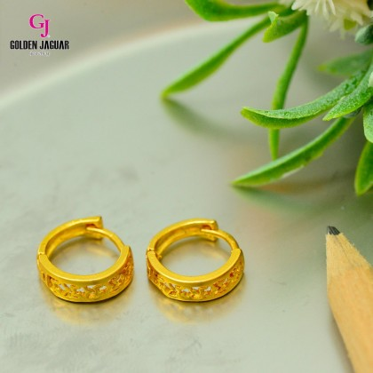 GJ Jewellery Emas Korea Earrings - Starry Starry Hollow (6962222)