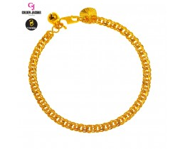 GJ Jewellery Emas Korea Bracelet - Papan Double | 4.0 (2560418)