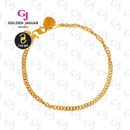 GJ Jewellery Emas Korea Bracelet - Papan - Mix (2580301)