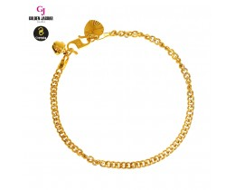 GJ Jewellery Emas Korea Bracelet - Papan Mix | 3.0 (2580301)
