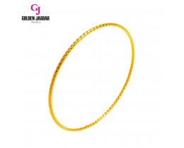 GJ Jewellery Emas Korea Bangle - Beth Kikir | 1pc | Slip-On (5565805)