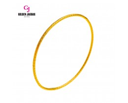 GJ Jewellery Emas Korea Bangle - Dairy Kikir | 1pc | Slip-On (5565836)