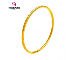 GJ Jewellery Emas Korea Bangle - Krush Kikir | 1pc | Slip-On (5565839)