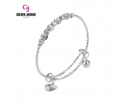 GJ Jewellery Emas Korea Bangle - Bulan Sabit | 9 | Kids | Adjustable (9275503)