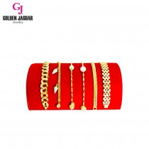 GJ Jewellery Bracelet Display Tray - Red